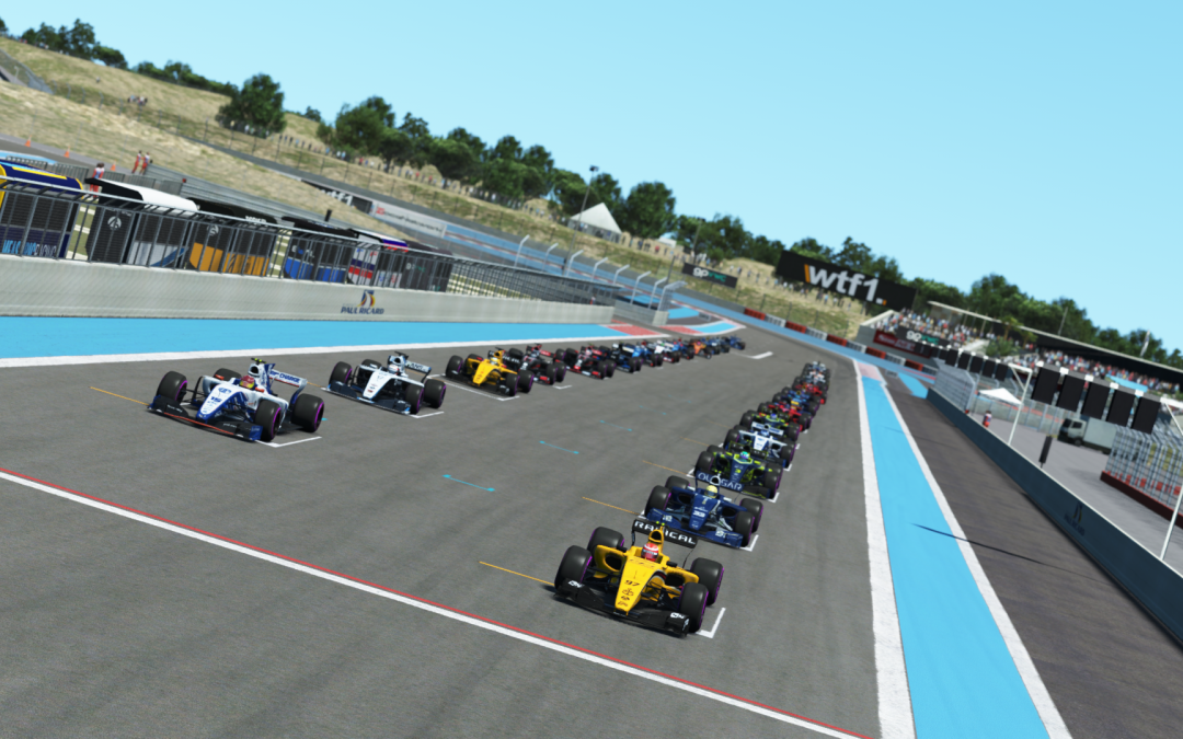 2018 WTF1 French Grand Prix – Race Report