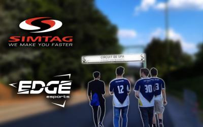 Edge Esports and Simtag continue partnership